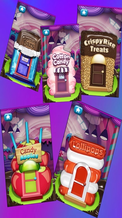 楽しいお菓子フェアお菓子メーカー 簡単に子供たちのゲーム 無料の家庭用ゲームのおすすめ画像1