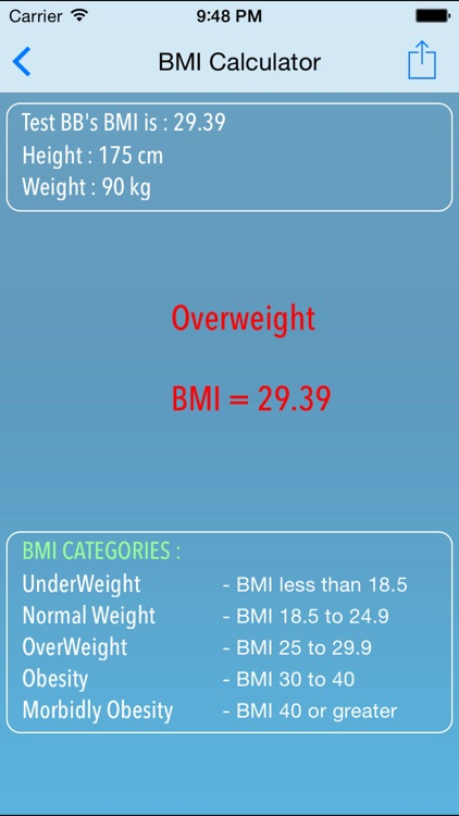 BMI Calculator - Weight Loose and Tracker by SHRADDHA MEHTA