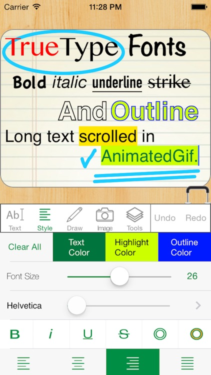 TrueText-Animated Gif/Video Creator for iPhone/iPad screenshot-3