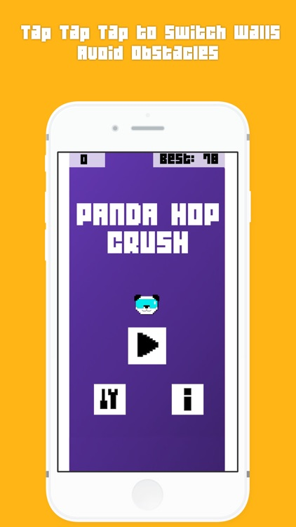 Panda Hop Crush - Fun little free game for your pastime