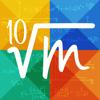 Mate 10 Liceu - formule matematice, teoreme, definiții, proprietăți, grafice, exemple și algoritmi de rezolvare