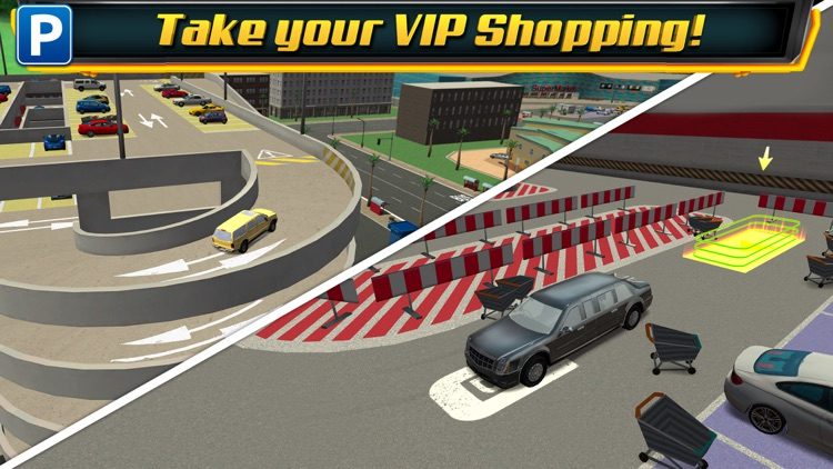 Multi Level 4 Car Parking Simulator a Real Driving Test Run Racing Games screenshot-4