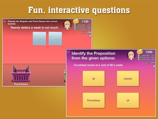 4th Grade Grammar - English grammar exercises fun game by ClassK12 [Lite]のおすすめ画像2