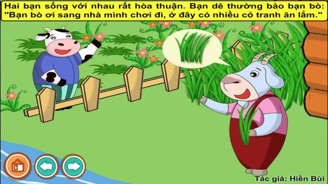 Bò và dê (Truyện thiếu nhi từ tác giả Hiền Bùi)