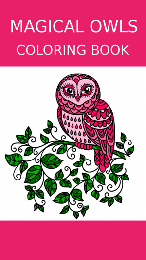 Owl Coloring Book For Adults: Free Fun Adult Coloring Pages ...
