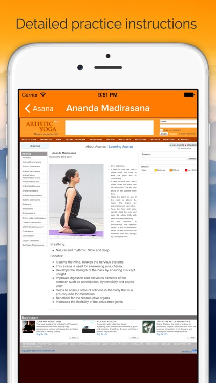 Yoga Insight - Yoga Tracker, Library & Log for Daily Sadhana Practice screenshot-3