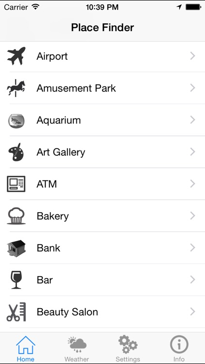 Place Finder - Near By Places & Location Browser