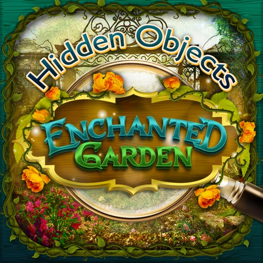 Enchanted Gardens – Hidden Object Spot and Find Objects Photo Differences