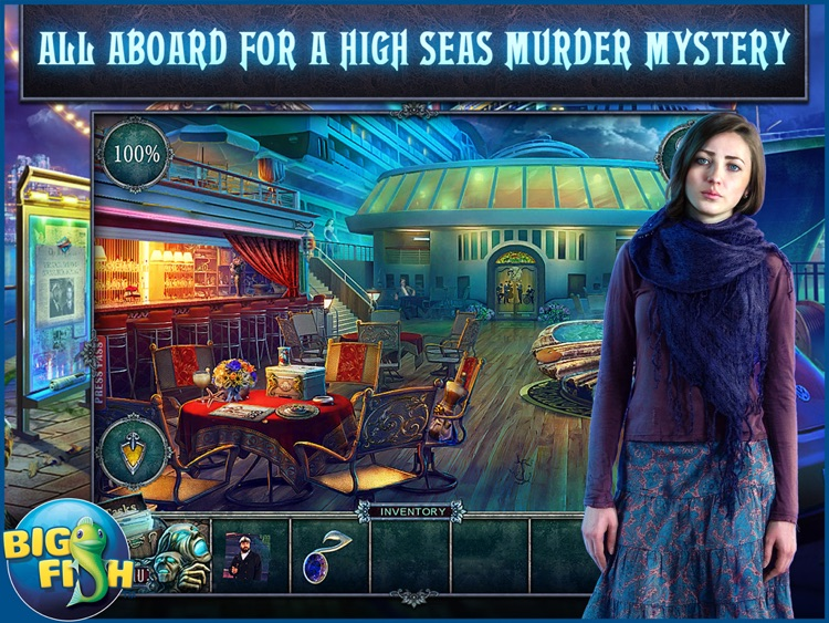 Fear for Sale: Endless Voyage HD - A Mystery Hidden Object Game (Full) screenshot-0