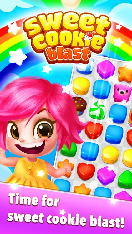 Sweet Cookie Blast - Sweet Crush screenshot-4
