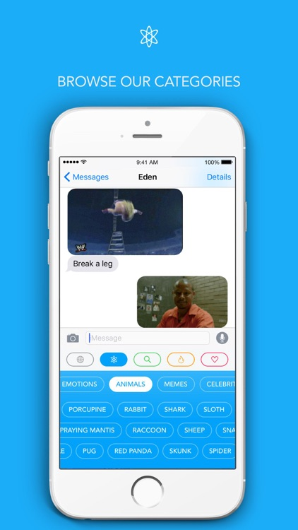 Giffage – The GIF Keyboard for GIFs