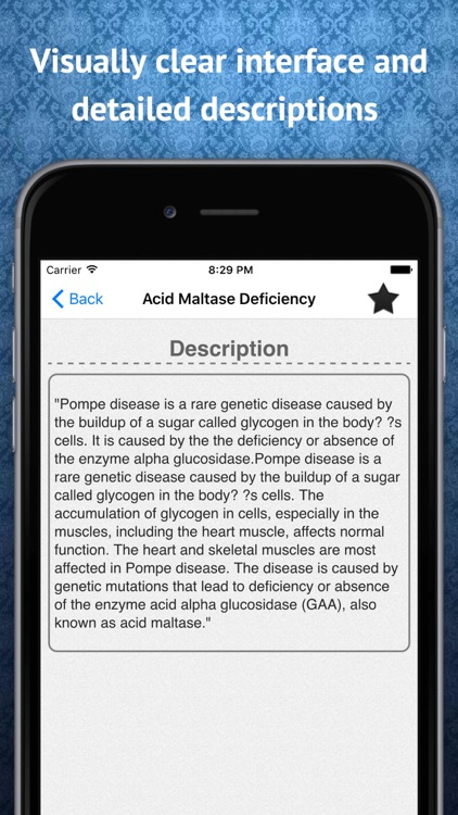 Disease Dictionary and Terms