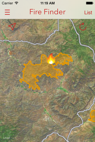 Fire Finder - Wildfire Info, Images and More screenshot 4