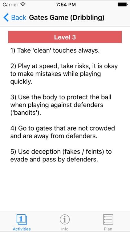 Essential Soccer Activities screenshot-4