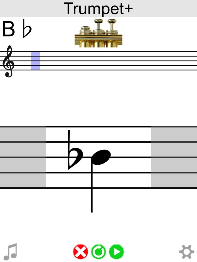 Trumpet Note Chart