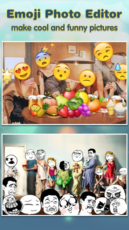 Emoji.s Photo Editor Pro - Add Funny Cool Emoticon Sticker.s & Smiley Face.s to Your Picture screenshot-2