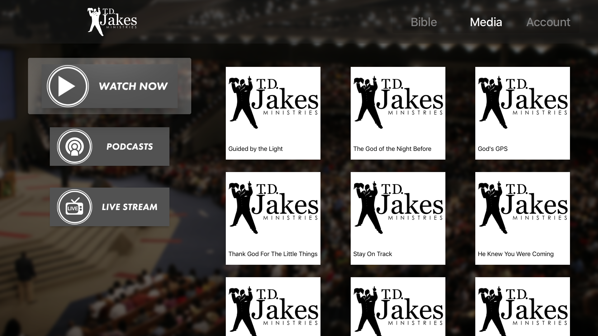 T D  Jakes Ministries | Apps | 148Apps