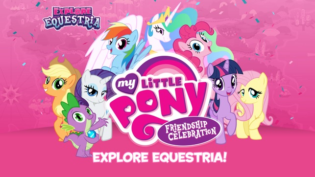 My little pony friendship celebration cutie mark magic on the app store screenshots mightylinksfo