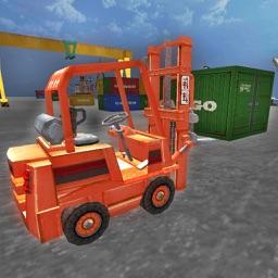 Heavy Forklift Drive Simulator 3D - Real Forklift Operator & Parking Sim Game