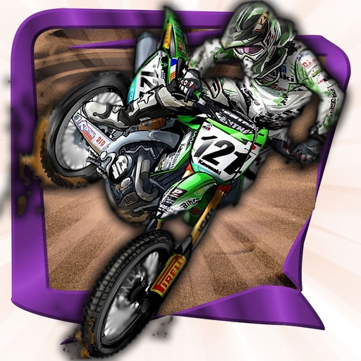 A Straight Steeplechase Motocross - Motor Trial Racing