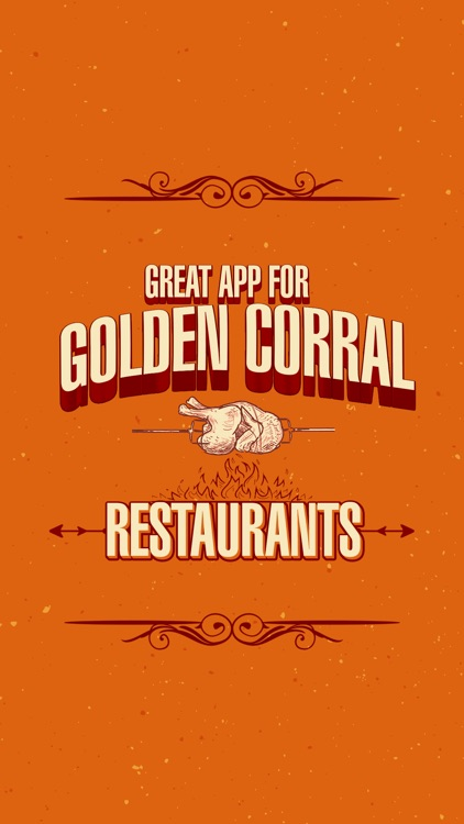 Great App for Golden Corral Restaurants