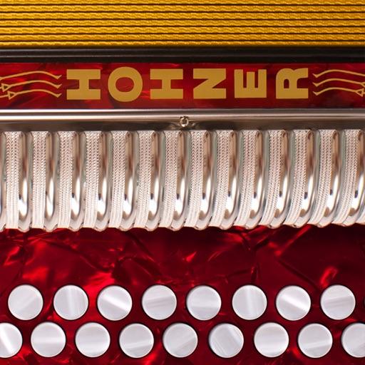 Hohner MIDI Melodeon - Two-Row Button Accordion MIDI Controller