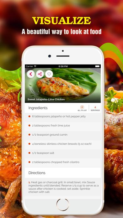 Yum Chicken ~ Best Healthy Chicken Recipes screenshot two