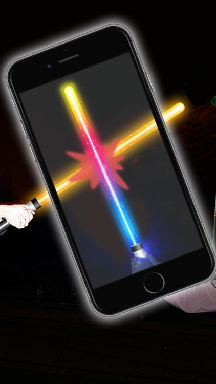 Lightsaber of galaxies - Simulator of laser swords