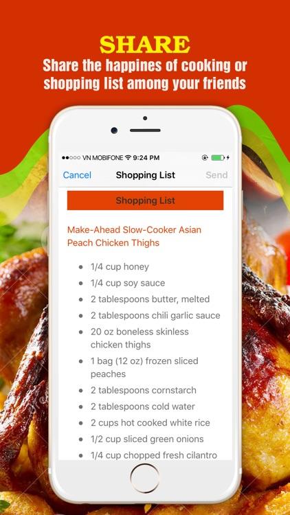 Yummy Chicken Recipes screenshot-4