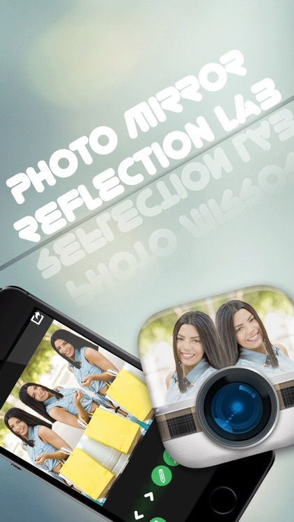 Photo Mirror Reflection Lab – Camera Clone Edit.or With Split & Blend.er Effect.s