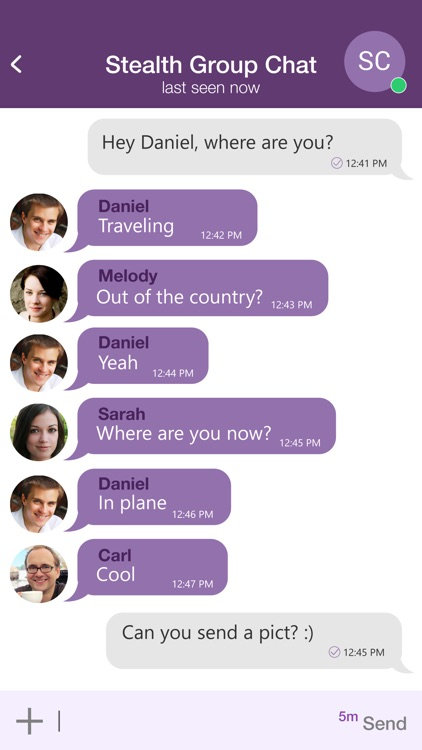 StealthChat: Encrypted Chats screenshot-3