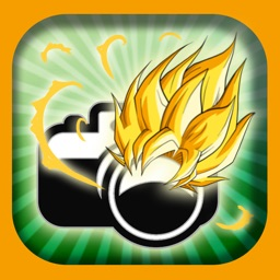 Manga Camera HD - Cartoon Anime Sticker dragon ball Z Edition