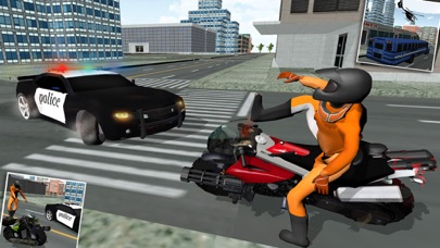 刑務所の脱出:交通警察チェイスバイクライダーのおすすめ画像4