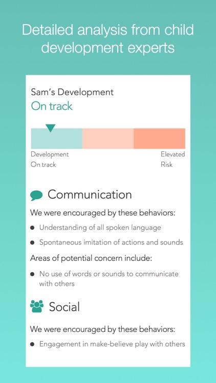 Cognoa: Child Development and Behavior Screening screenshot-0