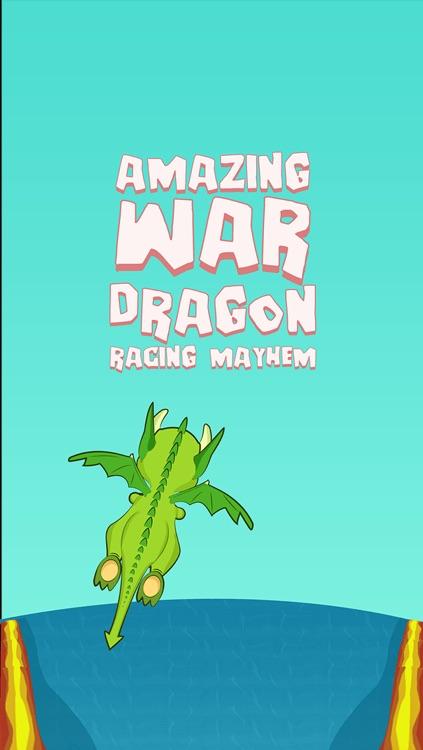 Amazing War Dragon Racing Mayhem - cool target shooting arcade game
