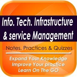 IT Infrastructure & service management :3000 Study Notes & Exam Quiz