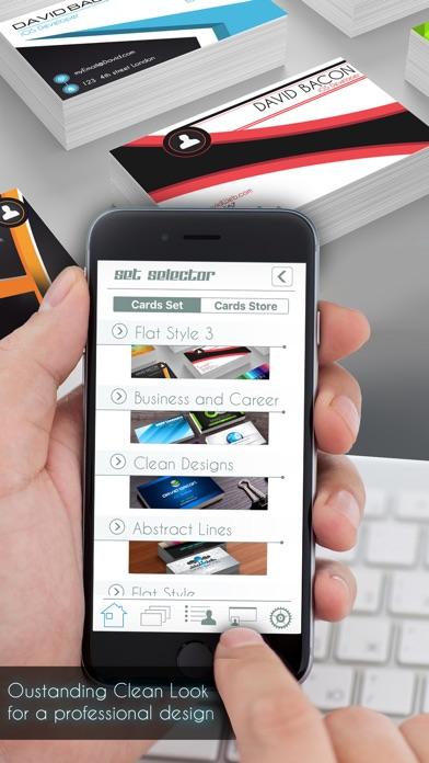 Business card creator pro by david sandonato productivity business card creator pro reheart Gallery