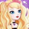 プリンセスパーティーの後にドレスアップ:今までのための高校の女王女の子サロン、モンスター