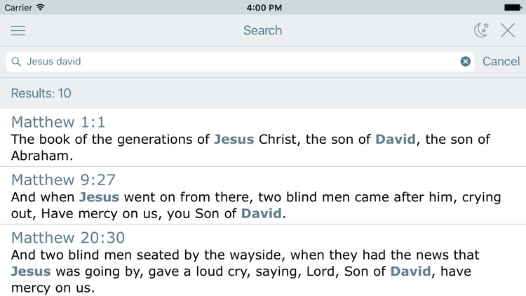 BBE Bible in Basic English. Easy to Read Version screenshot-3