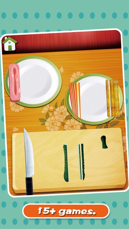 sushi maker Preschool kids games free screenshot-3