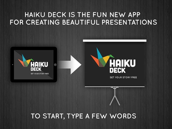 Haiku Deck Screenshot