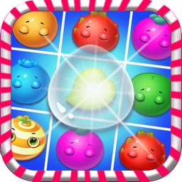 Fruit Splash Garden Bump Family : Match 3 Mania Pop Game