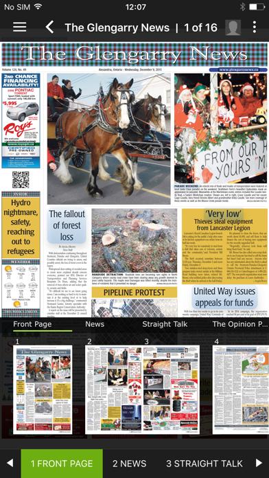 The Glengarry News ePaper screenshot two