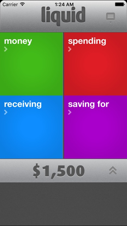 Liquid Personal Finance: drag & drop money to budget & track expenses