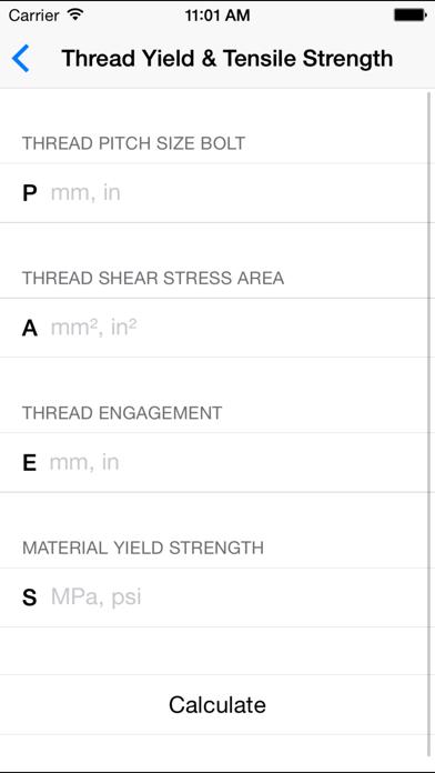 Bolt & Thread Calculators - Mechanical Engineers | App Price Drops