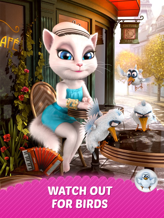 Talking Angela for iPad screenshot-4