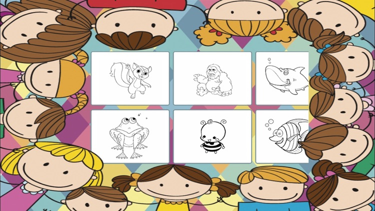 Animals to paint - coloring book to draw screenshot-4