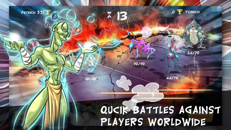 Comic Battle screenshot-0