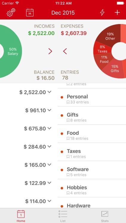 BudgetPal screenshot-3