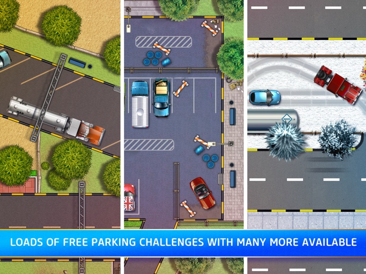Parking Mania HD Free screenshot-3